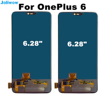 купить 100% Tested FOR Oneplus 6 LCD Display+Touch Screen Digitizer Assembly Replacement Accessories for Oneplus6 LCD screen по цене 7752.56 рублей