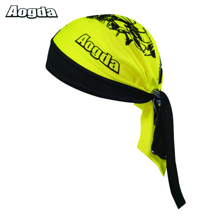 Hot Unisex Outdoor Sport Cycling Sweatproof Riding Polyester Hat Competitive Bicycle Bandana Pirate Headband Soft Headscarf