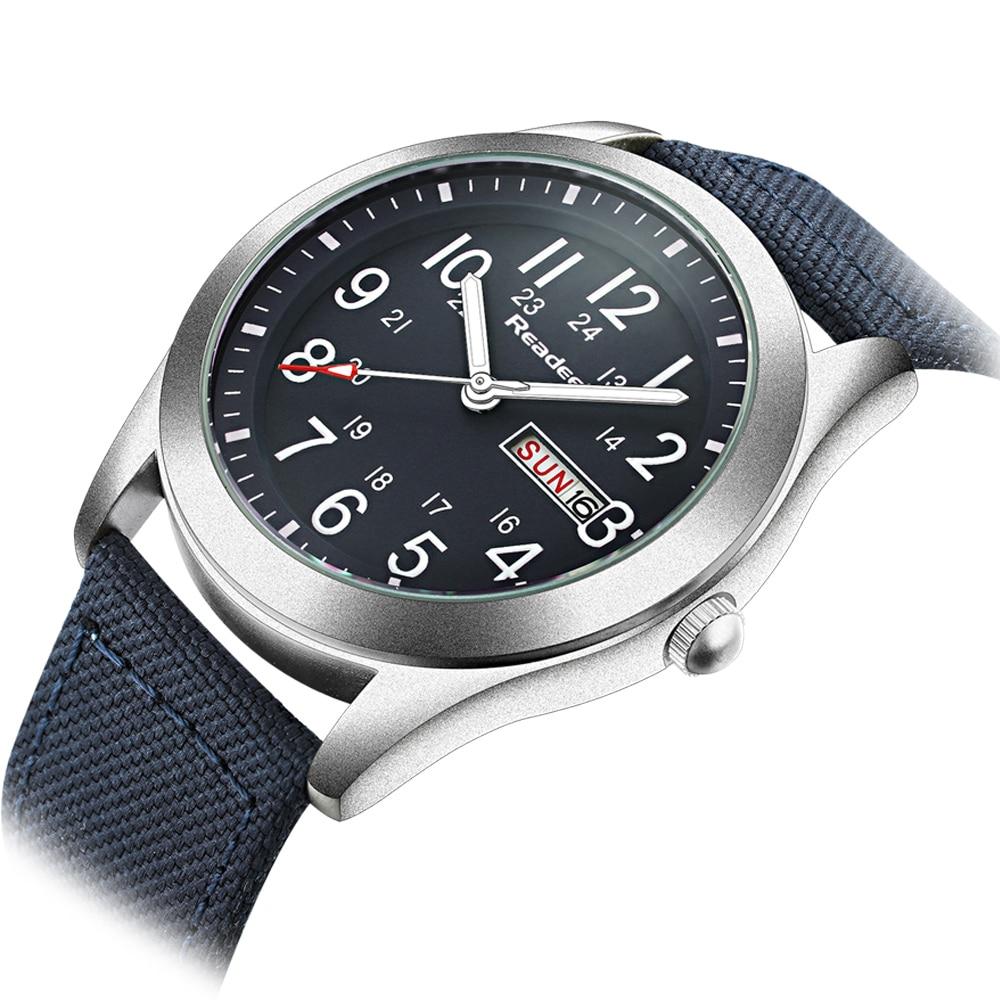 Readeel Brand Fashion Men Sport Watches Men's Quartz Hour Date Clock Man Military Army Waterproof Wrist watch kol saat erkekle 1