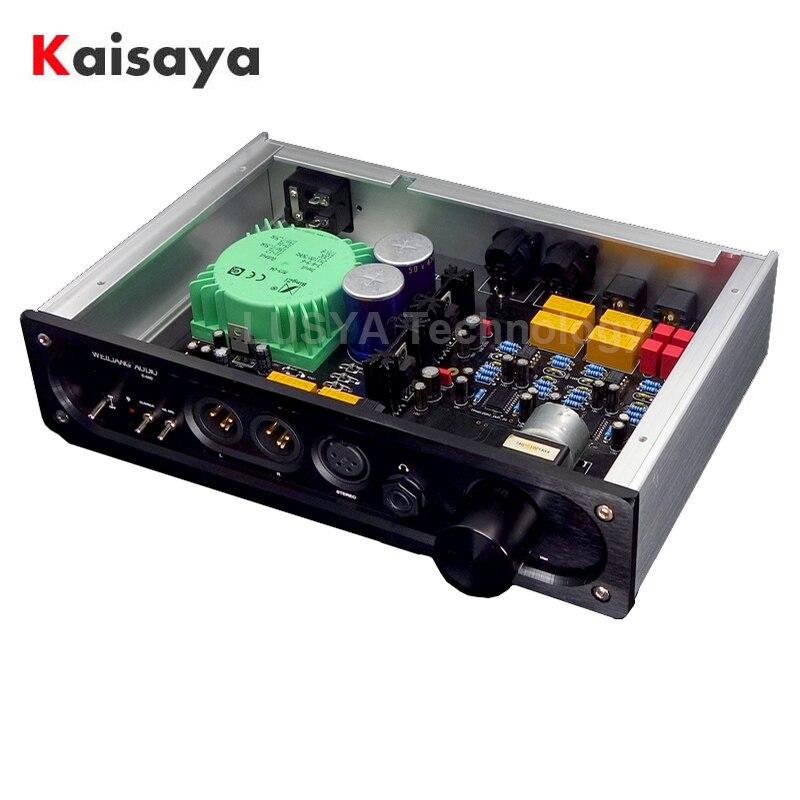 Fone de Ouvido com Caixa de Entrada Equilibrada Completa Saída Ultra Baixo Ruído Amplificador Jrc5532dd op T0673 Tpa6120
