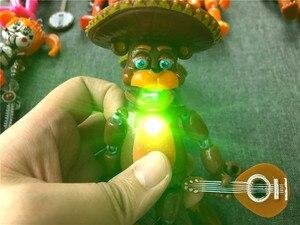 Image 4 - 6ピース/セット5夜アクションフィギュア玩具fnafボニーフォクシーfazbear置物のおもちゃ光と
