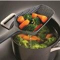 1 шт. 8 цветов кухонные лопаты сито для овощей Совок нейлоновая ложка большой дуршлаг фильтр для супа кухонные инструменты