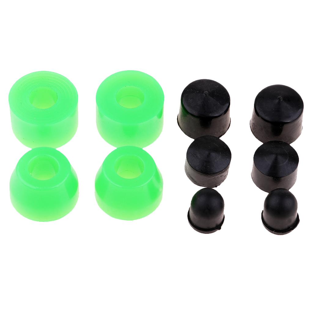 10pcs Skateboard Truck Pivot Cups Bushing Replacement Longboard Accessories