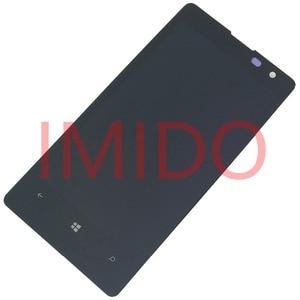 Image 4 - Nokia Lumia 1020 için RM 875 lcd ekran + dokunmatik ekranlı sayısallaştırıcı grup + Çerçeve Yedek Parçaları