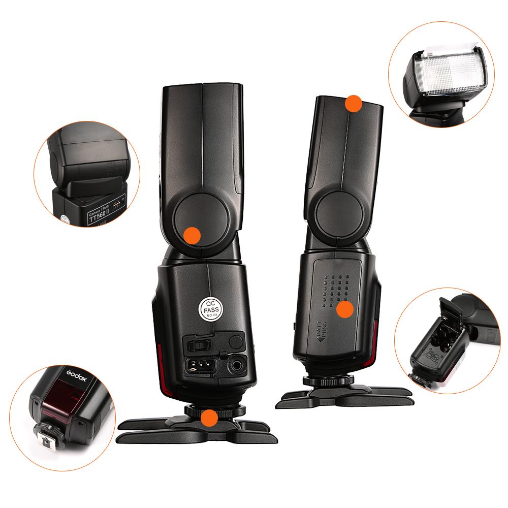 Godox TT560II Camera Flash with 16 Channels transmitter (26)