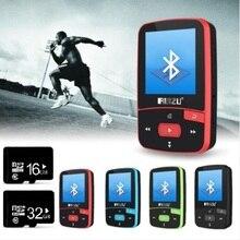 Bluetooth Mp3 プレーヤー ruizu X50 スポーツ bluetooth Mp3 プレーヤー 8 ギガバイト + 32 ギガバイトの音楽プレーヤーオーディオとラジオデジタルハイファイ画面