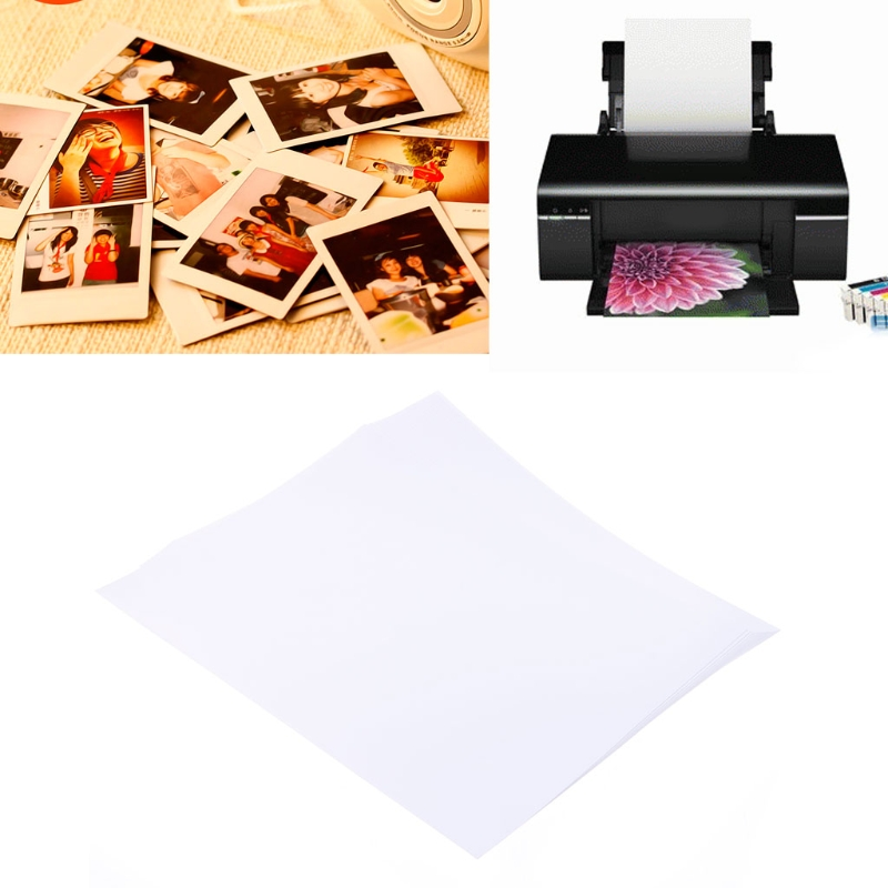 20 Sheets High Quality Glossy A4 Photo Paper 200gsm for Inkjet Printers