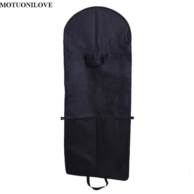 Cheap Portable Zip Clothes Storage Breathable Dust-proof Bag Folding Wedding Dress Dust Cover Bags Garment Non-woven Print Logo