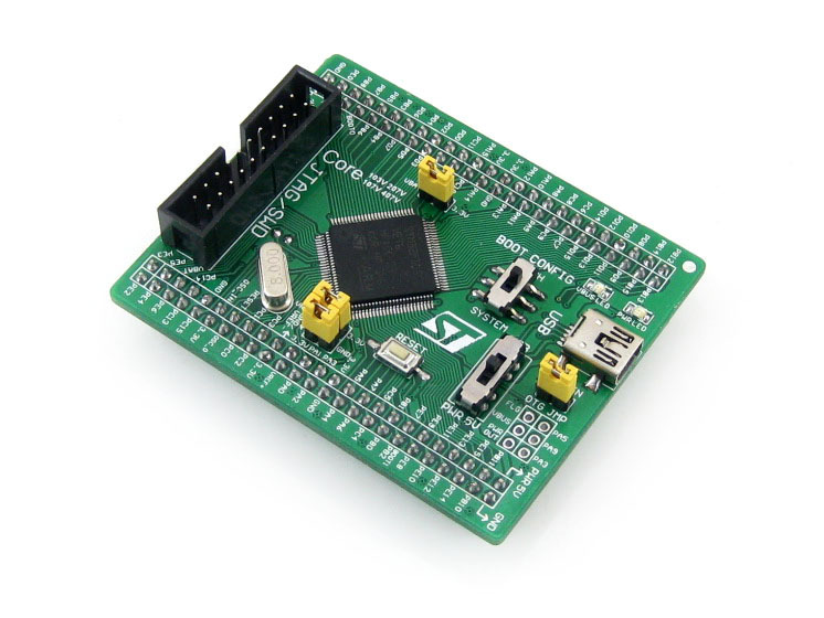 Waveshare STM32 Board Core103V STM32F103VET6 STM32F103 ARM Cortex-M3 STM32 Development Core Board With Full IO Expanders