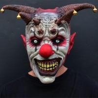 X-MERRY Spielzeug Jingle Jangle Der Clown Horror Latex Halloween Scary Kopf Maske Latex Böse Narr Clown Beste Für Karneval Cosplay