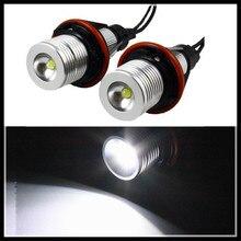 led marker angel eyes xenon white led angel eyes halo light bulb no error for bmw e39 e83 x3 (06-10) e53 x5 (04-06)