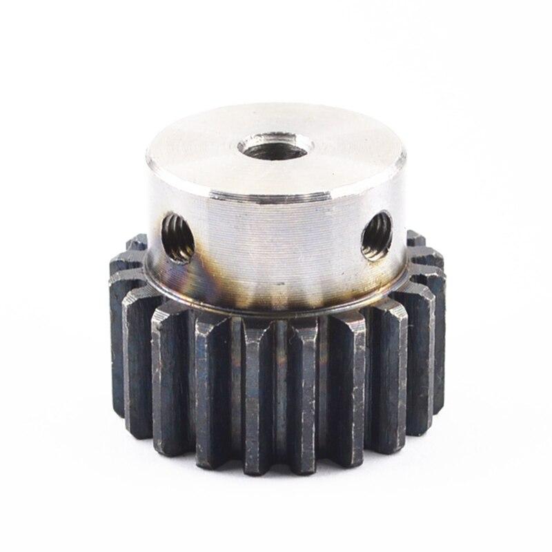 Spur Gear Pinion 1.5M  Mod 1.5  Right Teeth 45# Steel Major Gear Cnc Gear Rack Transmission RC