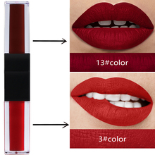 цена на Private label matte lip gloss blank spot no LOGO double matte lip gloss can do dropship blind dropshipping with your brand on