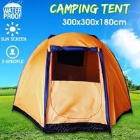300x300x180cm 5 6 People Capcity Camping Tent Waterproof Large Family Outdoor Camping Hiking Tents Easy Quick Build