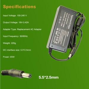 Image 2 - Fuente de alimentación para portátil adaptador de CA para asus, ADP 65HB, BB, 65JH, BB, EXA0703YH, PA 1650 66, AB, 19V, 3,42a, 65W, 5,5X2,5mm