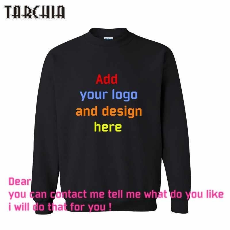 TARCHIA darmowa wysyłka moda na co dzień parentalmen bluza niestandardowe drukowane spersonalizowane projektant logo męskie płaszcz chłopiec bluzy z kapturem