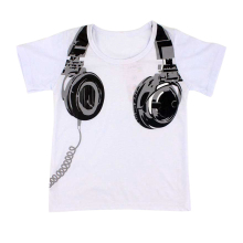 Headphones Printed Top