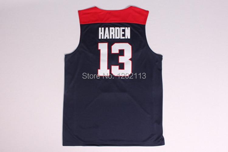 431cfac7ca6 2014 Dream Team USA Basketball Jerseys  13 James Harden Jersey 2014 ...