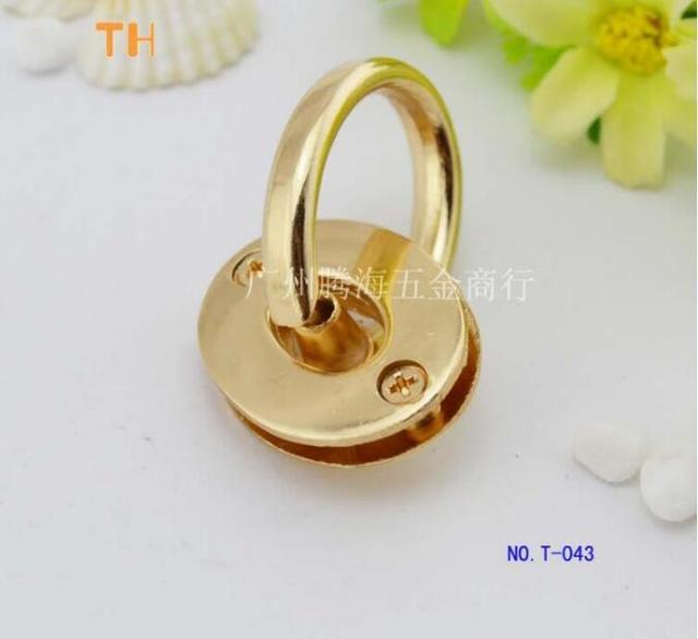 (10 pièces/lot) alliage de zinc moulage sous pression nest pas la rouille sangles bouton lien bras dans le bras + O corns sacs sacs à main accessoires de matériel