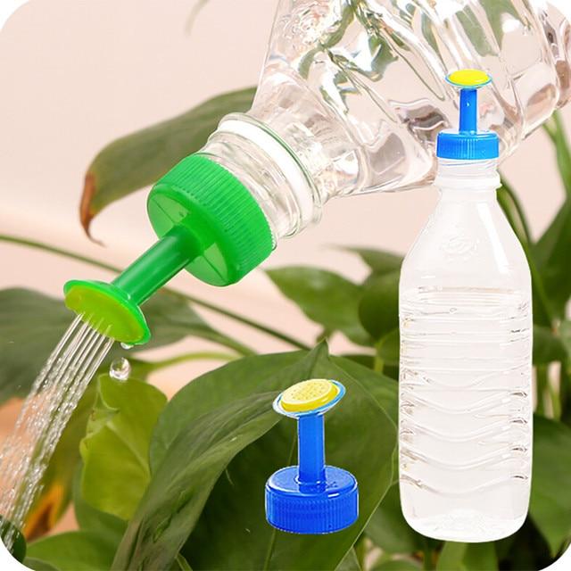 Jardín aspersores 2019 tapa de botella de riego de jardín aspersor para plantas de agua de semilla de plántulas de riego