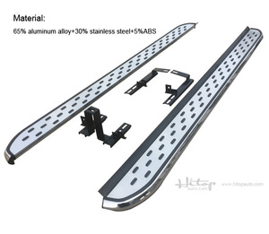Image 4 - Nieuwe Collectie Nerf Bar Side Bar Voet Stappen Voet Board Voor Opel Grandland X, Dikker Aluminium, vervaardigen Door Beroemde Fabriek