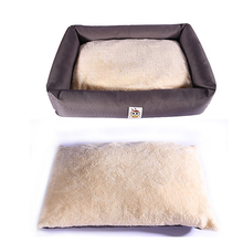 Removeable Pet Dog Beds Mats Cute Dog House Bed Washable Puppy Nest Soft Warm Cat Beds Kennel Waterproof Couch Sofa for Dog Hot soft dog beds winter warm print kennel pet mats puppy beds dog house outdoor pet products home decoration accessories atb 272