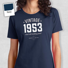 65th Birthday Gift Present Idea For Girls Mum Her Ladies 1953 T Shirt Tee Free