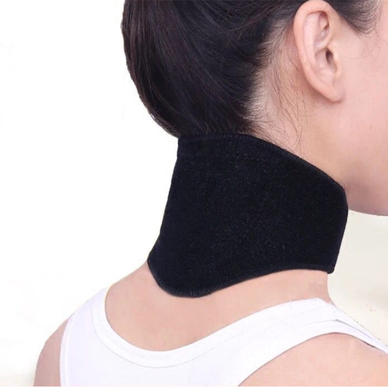 Tourmaline Magnetic Therapy Neck Massager Cervical Vertebra Protection Spontaneous Heating Belt Body Massager Relieve The Pain