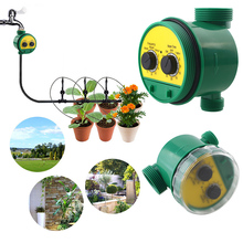 Intelligent Irrigation Controller Outdoor Garden Automatic Timing Sprinkler System Battery Watering Device DropShiping
