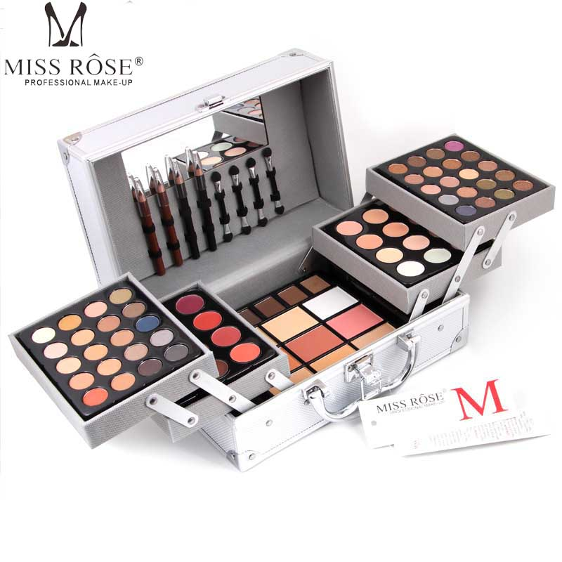 Miss Rose Pearl Matte Eyeshadow Professional Make-up Artist Use Nude Shimmer Eye Shadow Palette Concealer Maquiagem Makeup A201 miss rose cosmetic eyeshadow makeup palette diamond shaped shiny matte eye shadow concealer powder collection make up set kit