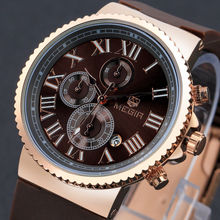 MEGIR Charm Men Waterproof Multifunction Sport Shows Travel Time Offers Watch Military Quartz Watches Relogio Masculino