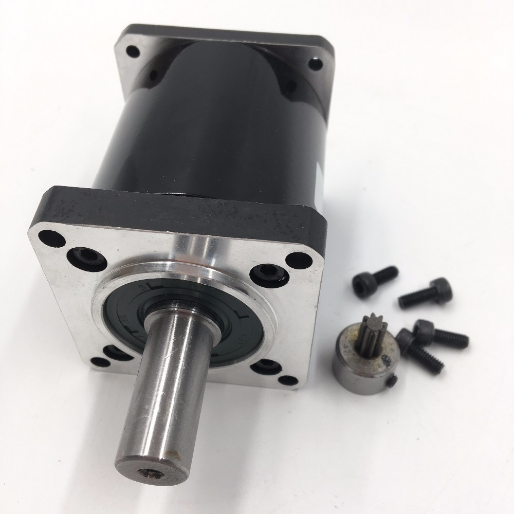 Planetary Gearbox Nema23 Gear Ratio 25:1 Shaft 14mm L70mm CNC Speed Reducer for Flange 57mm Stepper Motor nema23 planetary gear stepper motor ratio 20 1 speed reducer 57mm motor length 56mm 3a 1 1nm 4 wires for diy cnc router