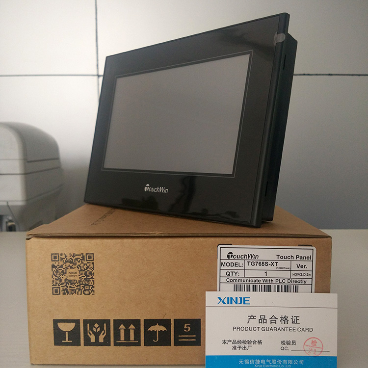 XINJE HMI 7 COLOR TFT TG765S XT 7 INCH TOUCH PANEL COMPATIBLE WITH MOST OF THE