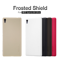 10pcs Lot Wholesale Nillkin Super Frosted Shield Case For Sony Xperia XA Ultra Plastic Hard Back