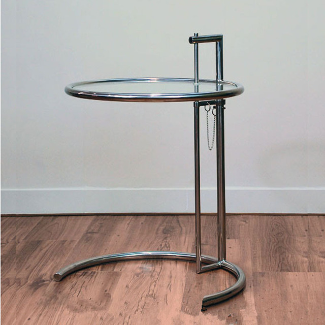 Eileen Grey Side Table Eileen Gray End Table Stainless Steel - Eileen gray end table
