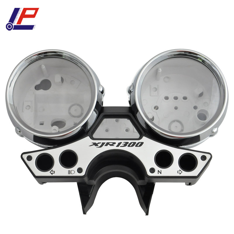 LOPOR For Yamaha XJR1300 1989-1997 XJR 1300 1989-1997 Motorcycle Gauges Cover Case Housing Speedometer Tachometer for yamaha xjr1300 98 02 speedometer tachometer speedo gauge cover motorcycle xjr 1300 1998 1999 2000 2001 2002 motorcycle