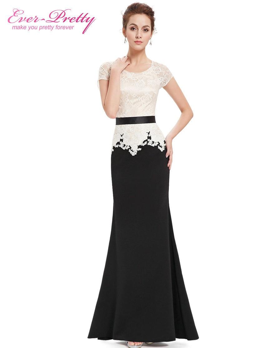 Clearance Sale] Elegant Evening Dresses Women 2018 Black Ever Pretty ...
