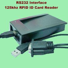 Rs232 usb inerface 125 кГц rfid id card настольный считыватель