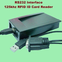 RS232 USB Inerface 125khz RFID ID Card Desktop Reader Compatible Security Proximity Sensor Smart EM100 Fast Response цена и фото
