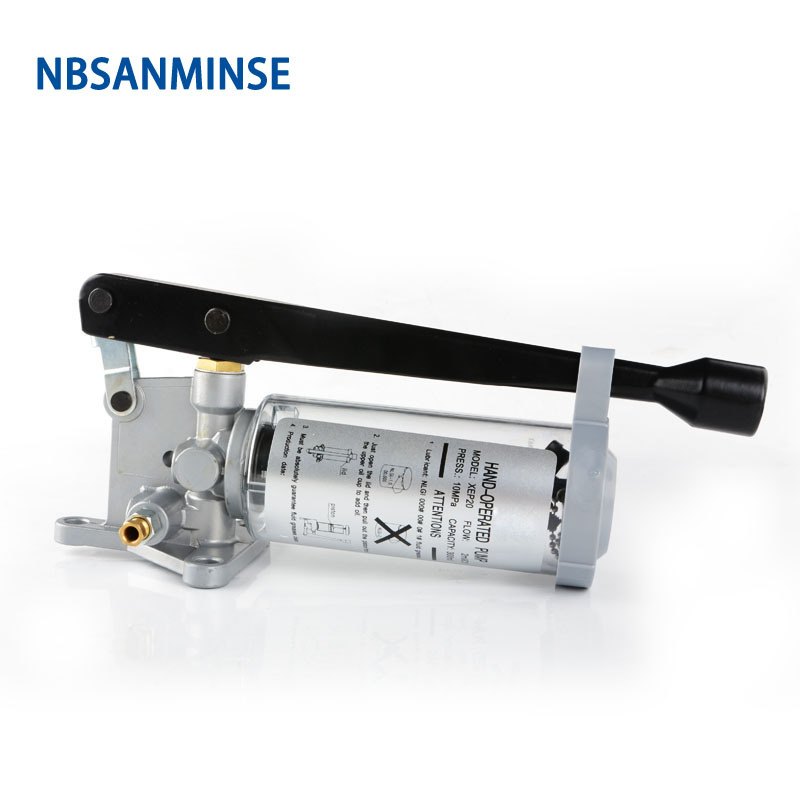 NBSANMINSE XEP20 Manual Grease Lubrication Pump Plunger without Unloading function work with Damped grease distributor