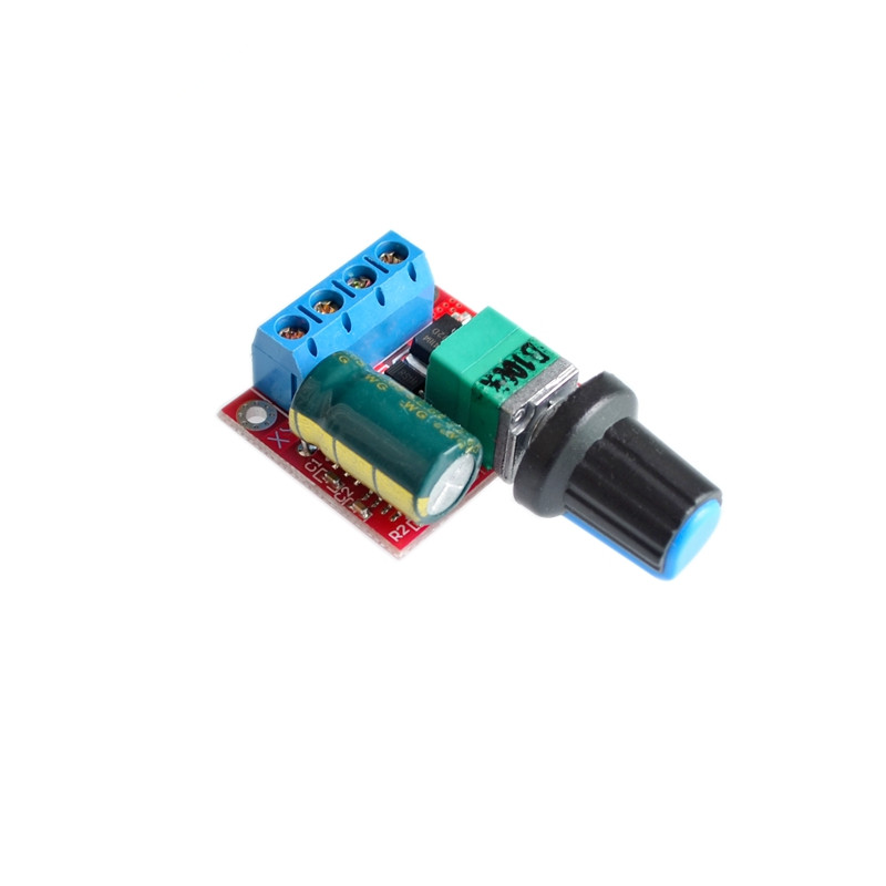 PWM DC Motor Speed Governor 5V-35V Speed Regulation Switch 5A Switch Function LED Dimmer
