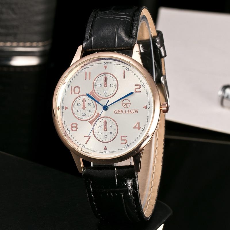 2017 Heren Horloges Merk Luxe Casual Militaire Quartz Sport Horloge - Herenhorloges