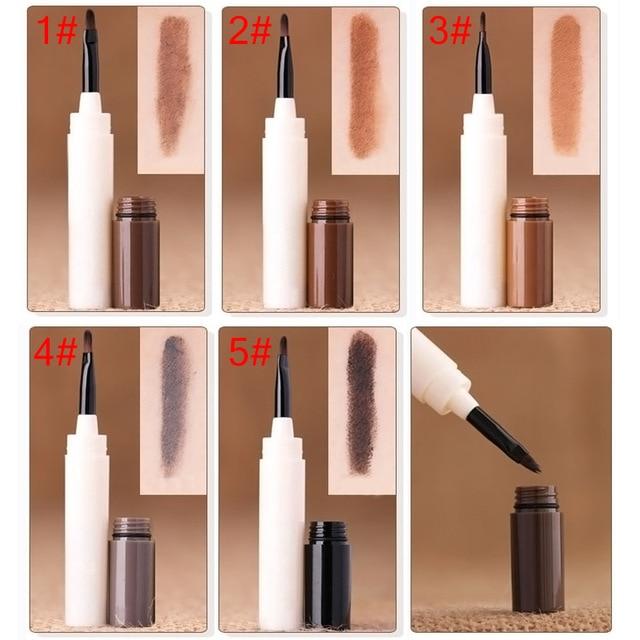 Professional Waterproof Makeup Eyebrow Tint Brows Gel Long Lasting Eyebrows Tattoo Dye Gel Make Up Kit Drop Ship 5
