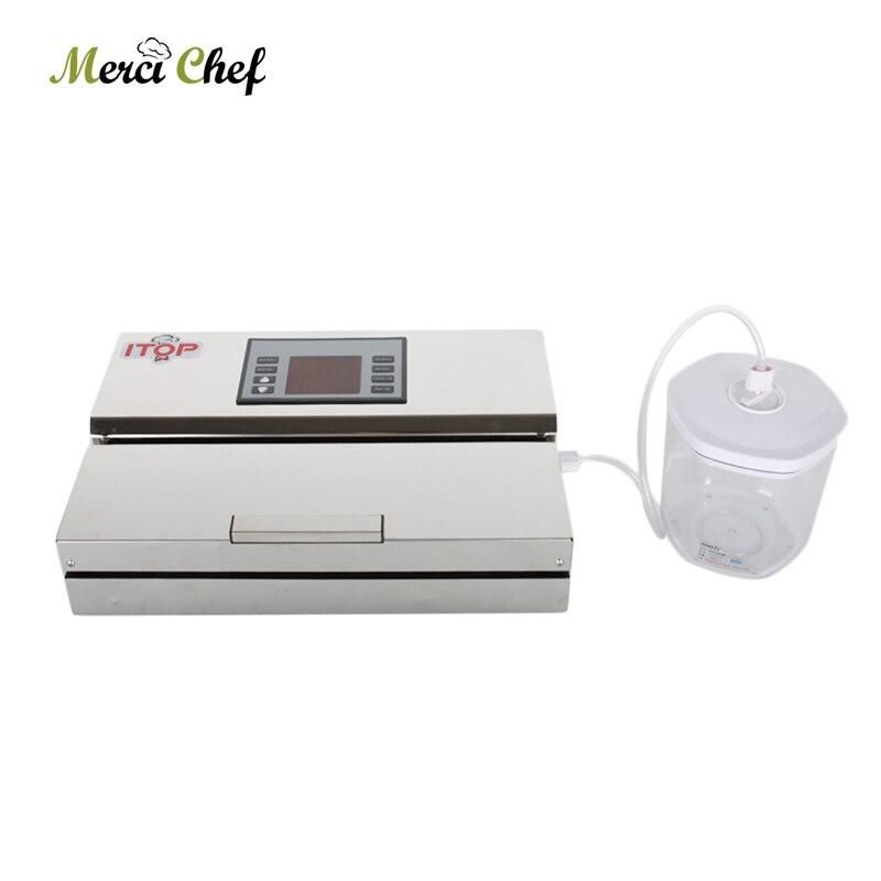 Vacuum Airtight Box Keep the Food Fresh Box With Vacuum Sealer Use Hose Vacuum Airtight Box Food Seal Tools 700ml 1400ml 2000ml in Vacuum Food Sealers from Home Appliances