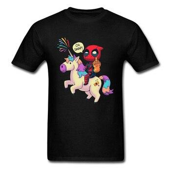 T-shirt Avengers Deadpool licorne Thanos