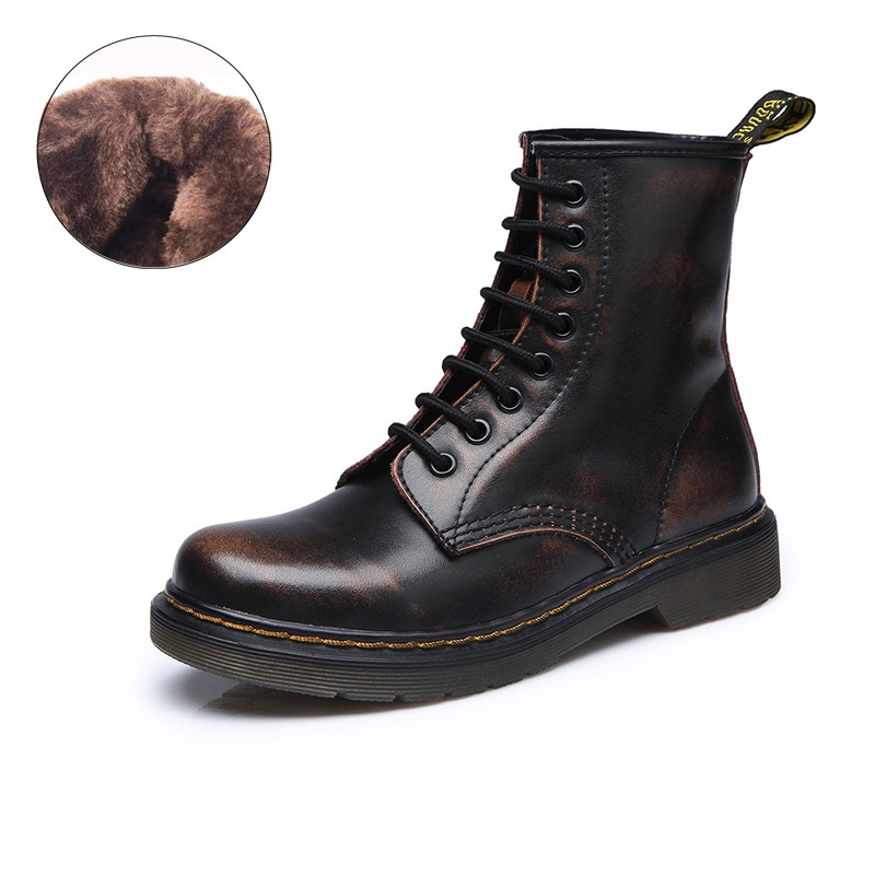 Winter Outdoor Casual Timber Boots Brand Women Shoes Martin Boots Suede Leather Short Plush Couples Boots X-01A new winter autumn brand luxury women shoes flats suede leather warm snow casual zapatillas mujer plush timber shoes for lady
