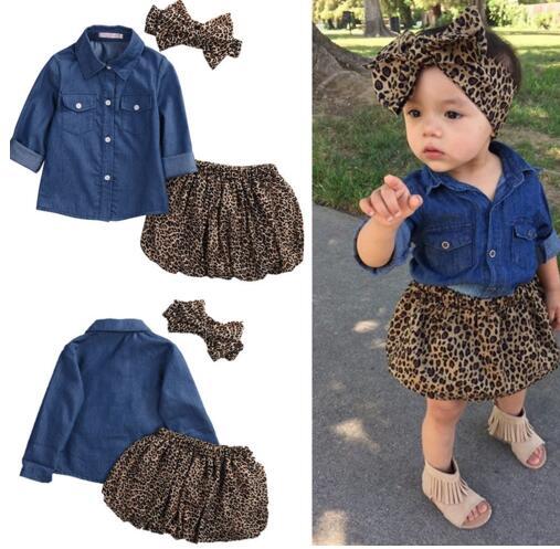2017 3PCS děti Set Cute Baby Girls oblečení letní batole děti - Dětské oblečení