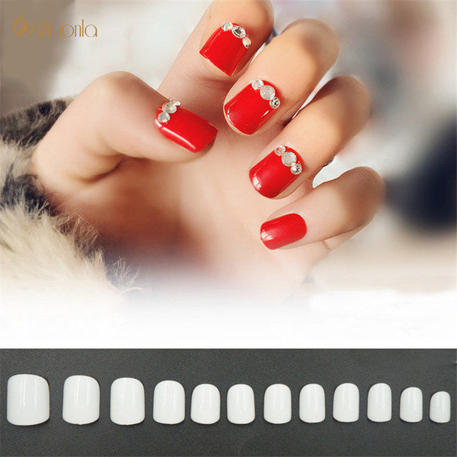 500pcs Pack French False Nail Art Tips Oval Head Nature Transpa Acrylic Uv Gel Nails Children Diy Manicure Tools