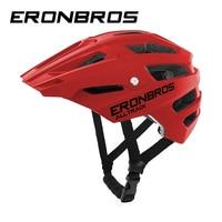 red cycling helmet trail bicycle Helmet AllTrack XC vtt MTB bike Helmet Road Casco Ciclismo In mold Mountain enduro bike Helmet