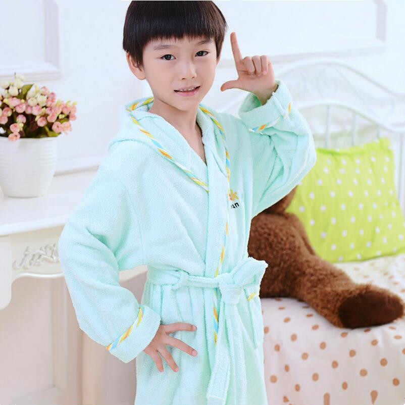 ... boys bathrobe kids hooded poncho towel pink bathrobe for girls roupao blue  bath robe green loose ... ca0f66631